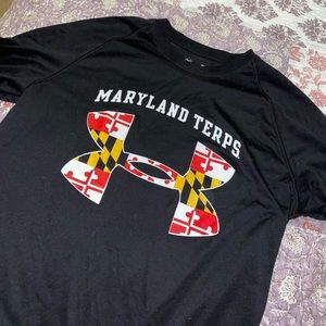 Under armour University of Maryland Terps tshirt